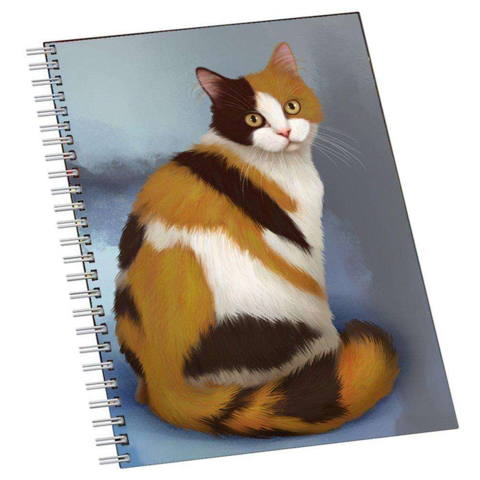British Shorthaired Calico Cat Notebook