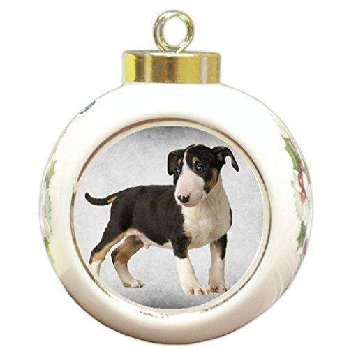 Bull Terrier Dog Christmas Holiday Ornament