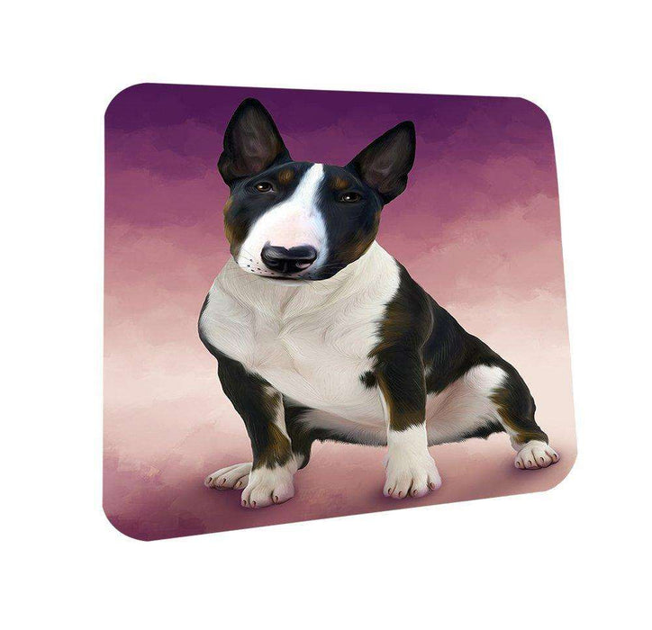 Bull Terrier Dog Coasters Set of 4