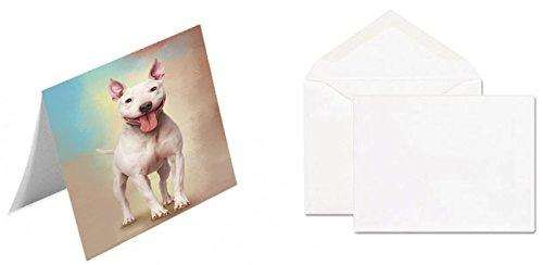 Bull Terrier Dog Greeting Card