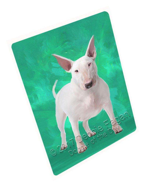 Bull Terrier Dog Large Refrigerator / Dishwasher Magnet D335