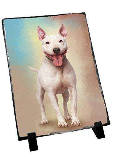 Bull Terrier Dog Photo Slate