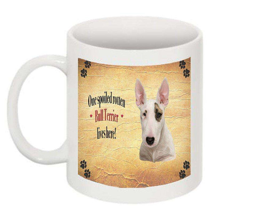 Bull Terrier Spoiled Rotten Dog Mug