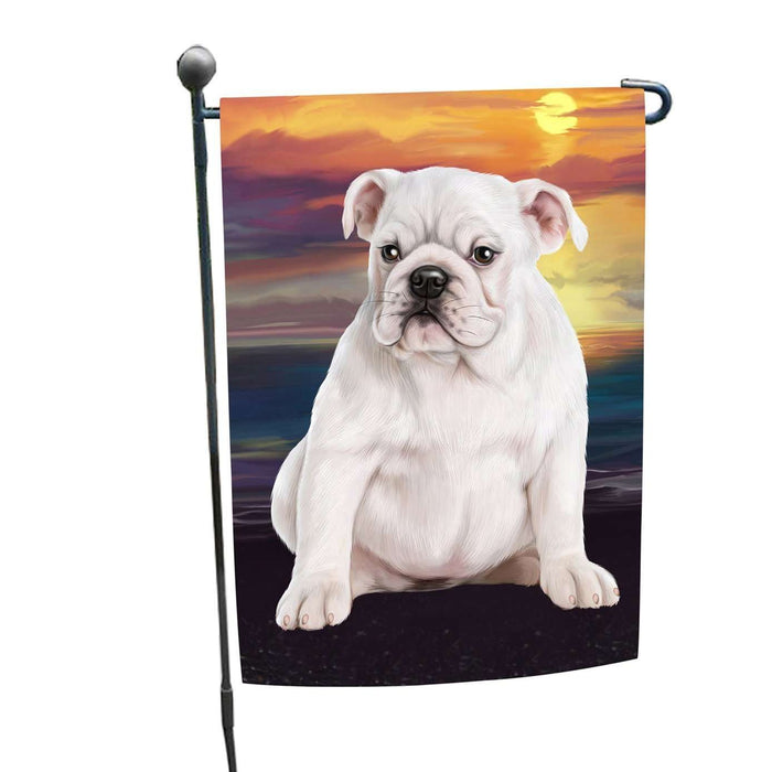 Bulldog Dog Garden Flag