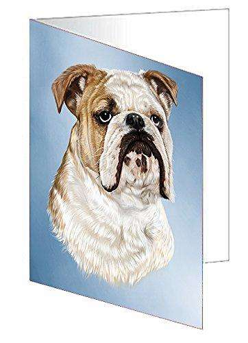 Bulldog Dog Greeting Card