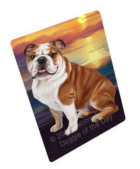 Bulldog Dog Magnet