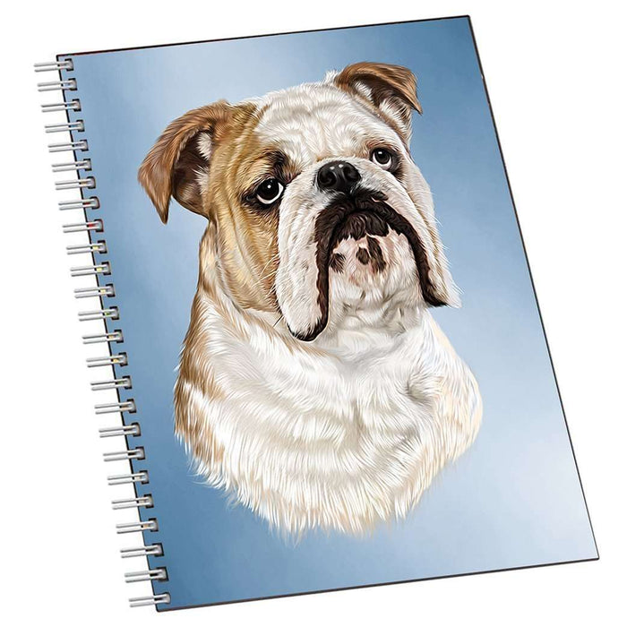 Bulldog Dog Notebook
