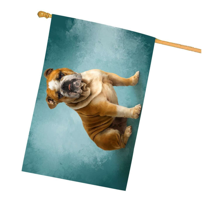 Bulldogs Dog House Flag HF223