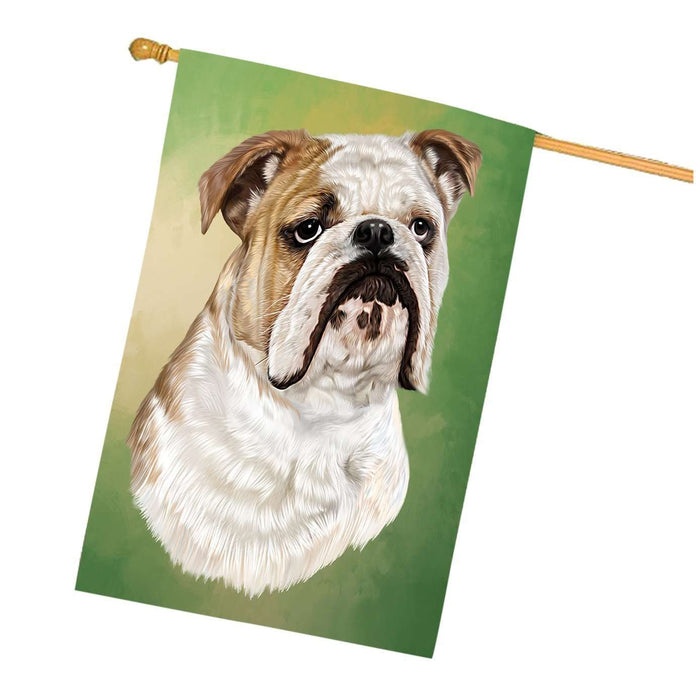 Bulldogs Dog House Flag