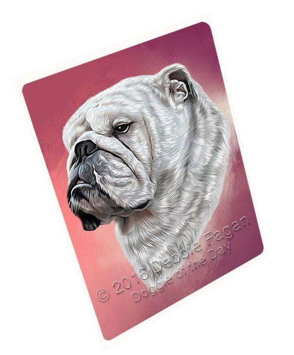 Bulldogs Dog Large Refrigerator / Dishwasher Magnet D136