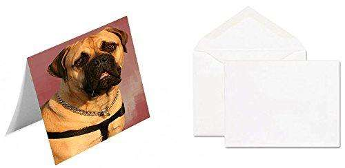 Bullmastiff Dog Note Card