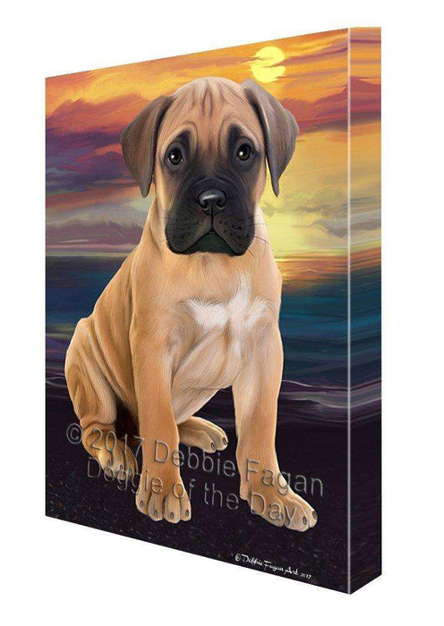 Bullmastiffs Dog Canvas Wall Art