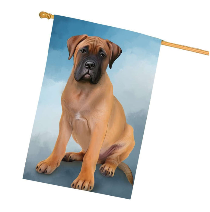 Bullmastiffs Dog House Flag HF226