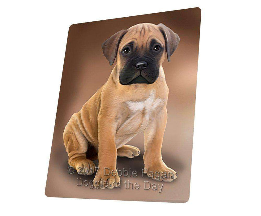 Bullmastiffs Dog Large Refrigerator / Dishwasher Magnet D403