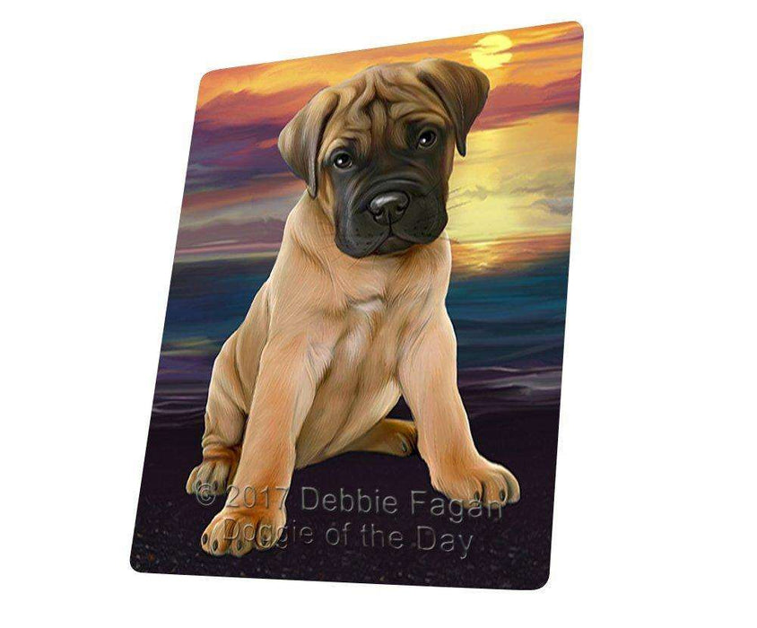 "Bullmastiffs Dog Magnet Mini (3.5"" x 2"")"