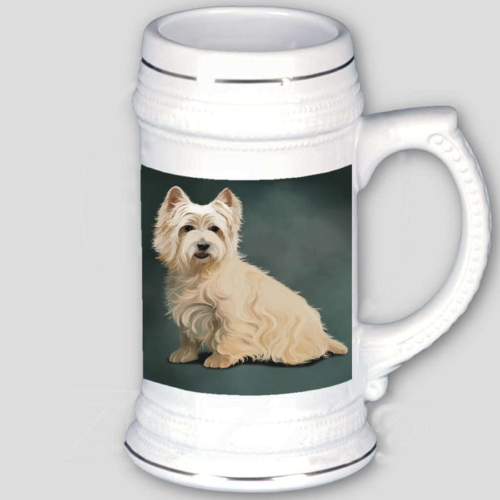 Cairn Terrier Dog Beer Stein