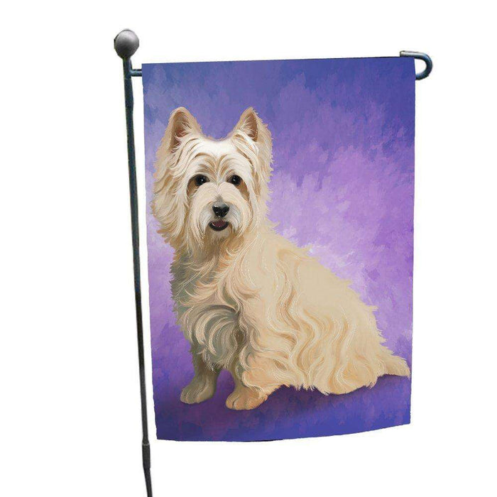 Cairn Terrier Dog Garden Flag