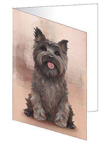 Cairn Terrier Dog Greeting Card