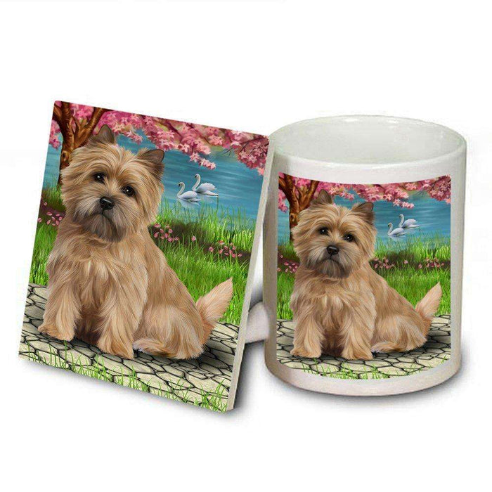 Cairn Terriers Dog Mug and Coaster Set
