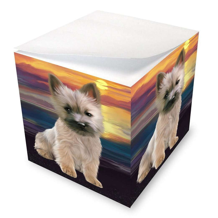 Cairn Terriers Dog Note Cube