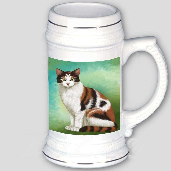 Calico Cat Beer Stein
