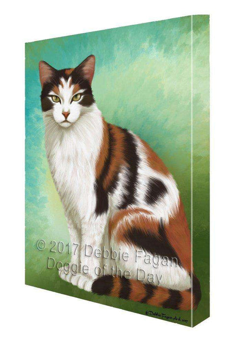 Calico Cat Canvas Wall Art