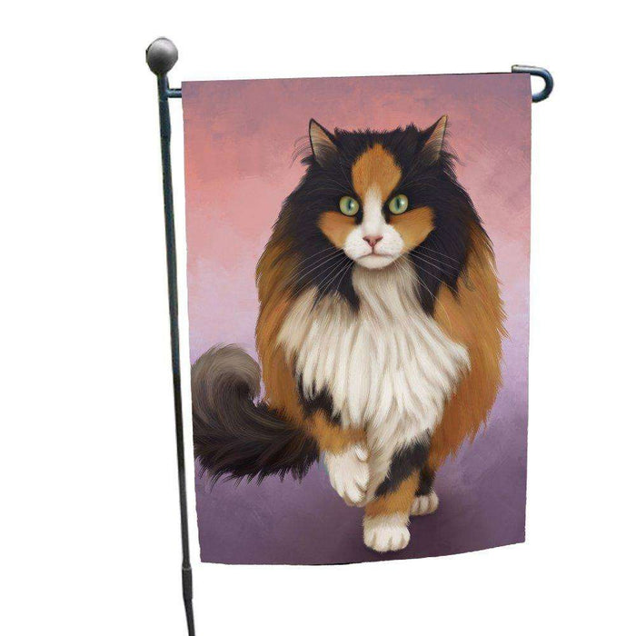 Calico Cat Garden Flag