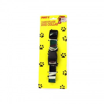 Camouflage Dog Adjustable Nylon Collar