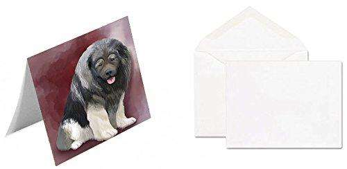 Caucasian Ovcharka Dog Note Card