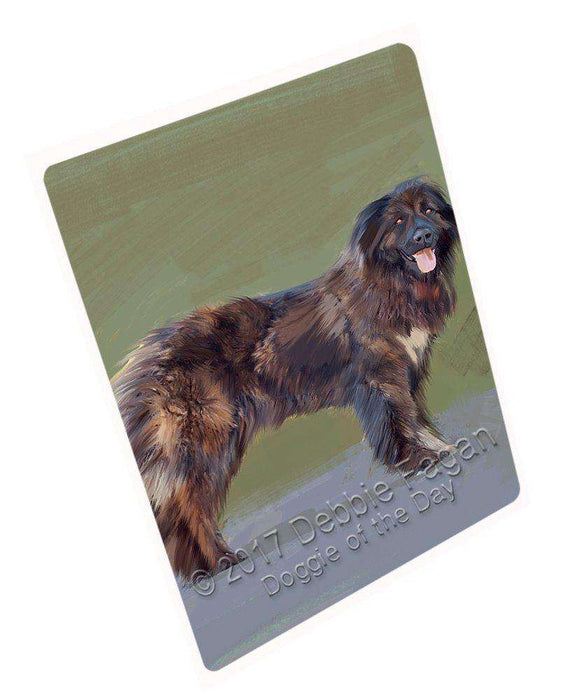 Caucasian Shepherd Dog Art Portrait Print Woven Throw Sherpa Plush Fleece Blanket D339