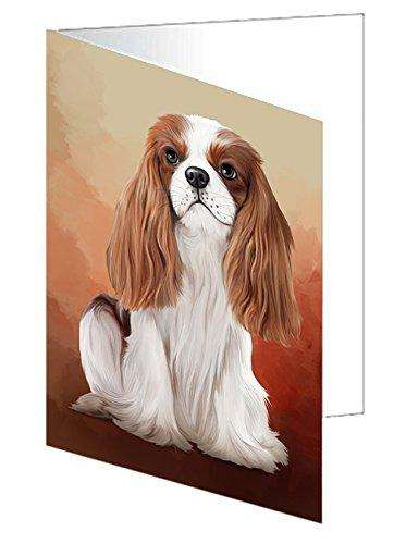 Cavalier King Charles Spaniel Dog Note Card