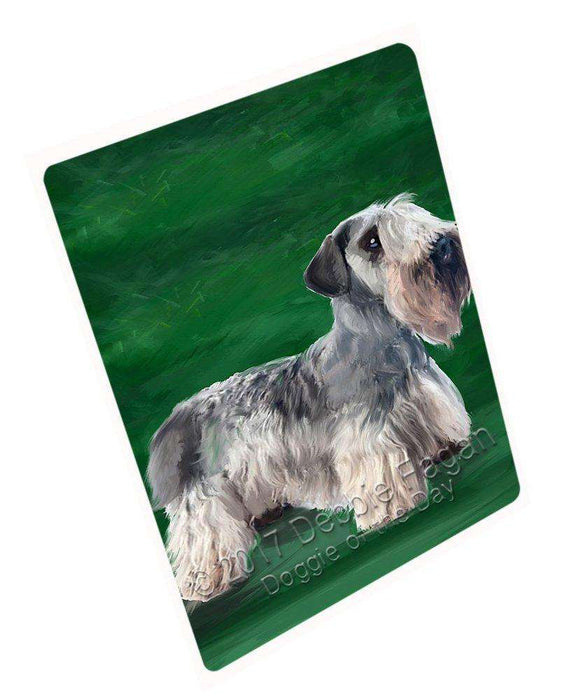 "Cesky Terrier Dog Magnet Mini (3.5"" x 2"")"