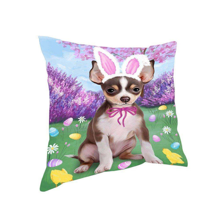 Chihuahua Dog Easter Holiday Pillow PIL52260