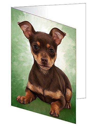 Chihuahua Puppy Dog Note Card