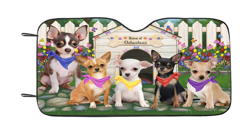 Spring Dog House Chihuahua Dogs Car Sun Shade