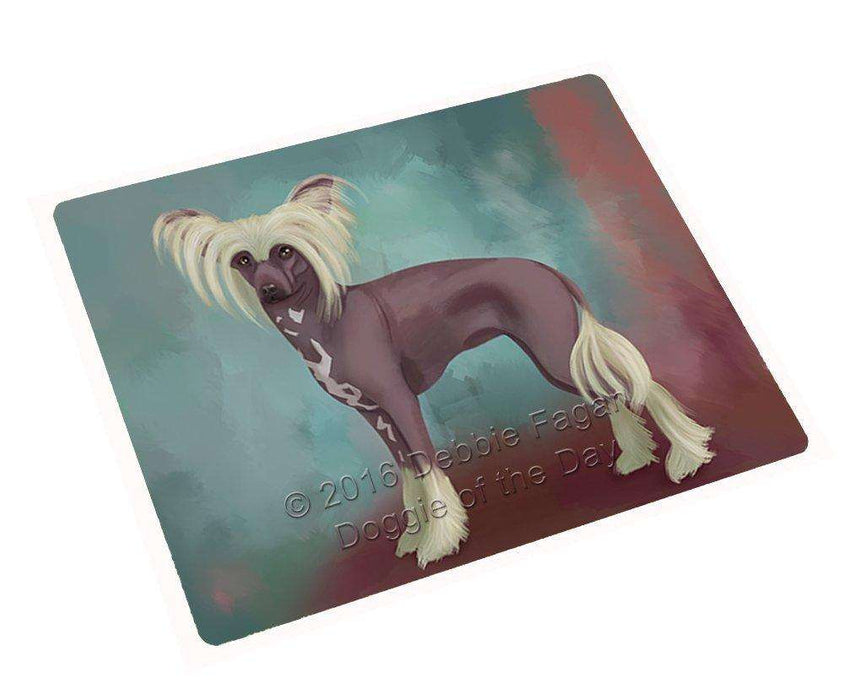 "Chinese Crested Dog Magnet Mini (3.5"" x 2"")"