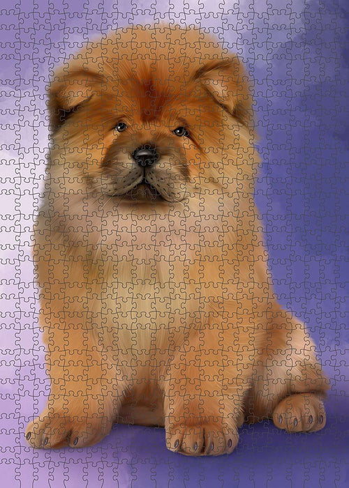 Chow Chow Dog Puzzle with Photo Tin PUZL1545