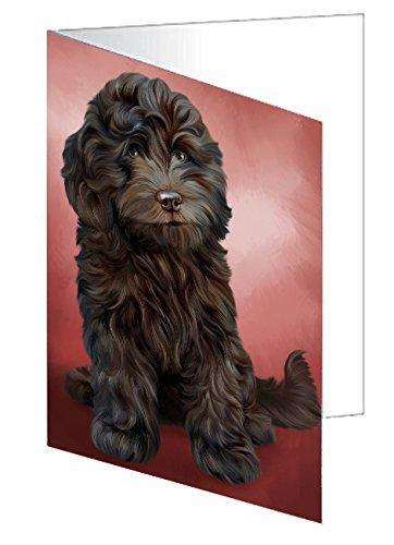 Cockapoo Dog Greeting Card