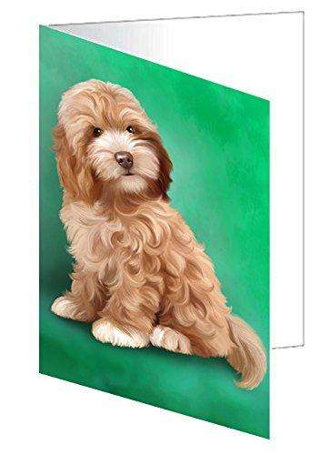 Cockapoo Dog Note Card