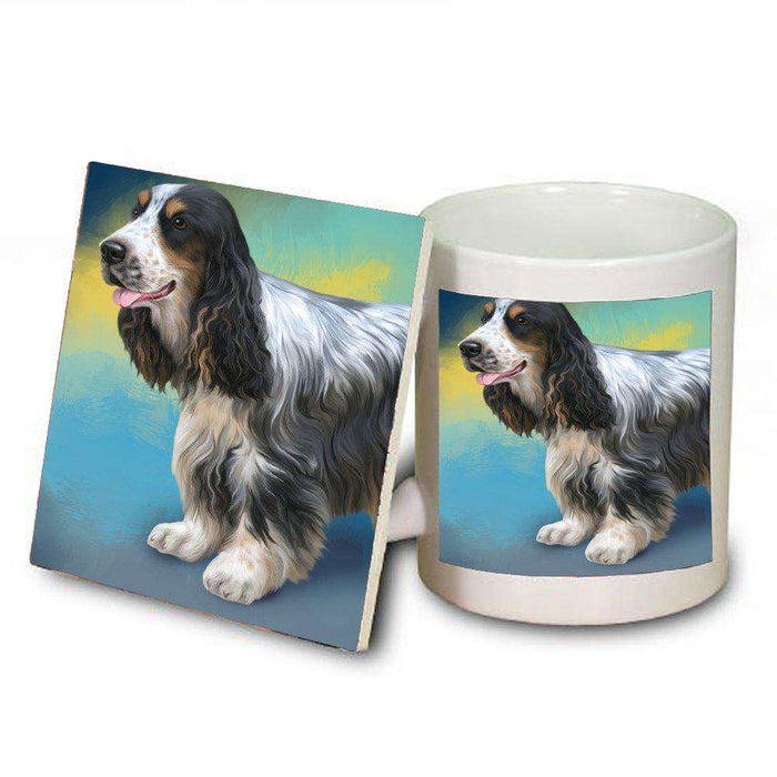 Cocker Spaniel Dog Mug and Coaster Set