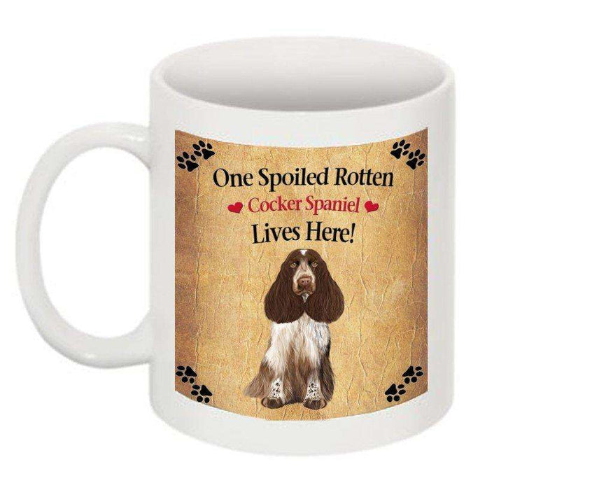 Cocker Spaniel Spoiled Rotten Dog Mug