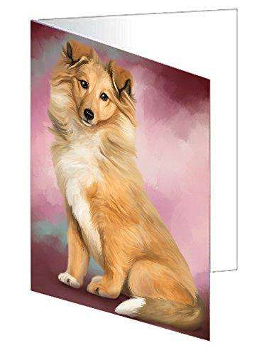 Collie Dog Note Card
