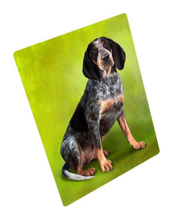 "Coonhound Bluetick Dog Magnet Mini (3.5"" x 2"")"