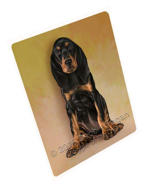Coonhounds Dog Large Refrigerator / Dishwasher Magnet D151