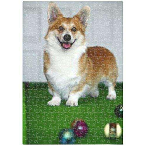 Corgi Dog 500 Pc. Puzzle with Photo Tin