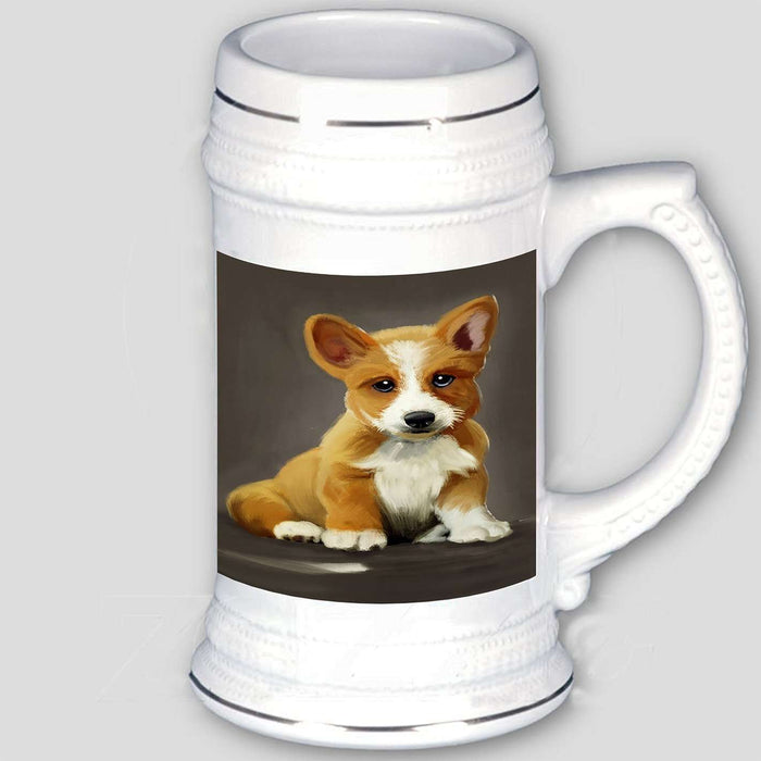 Corgi Dog Beer Stein
