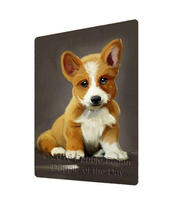 "Corgi Dog Magnet Mini (3.5"" x 2"")"