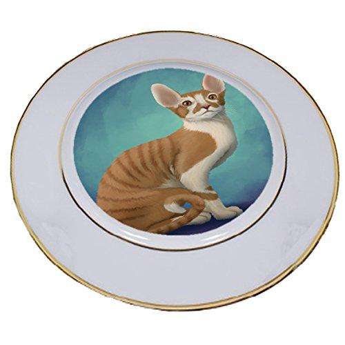 Cornish Red Cat Porcelain Plate