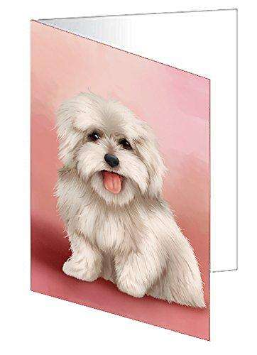 Coton De Tulear Dog Note Card