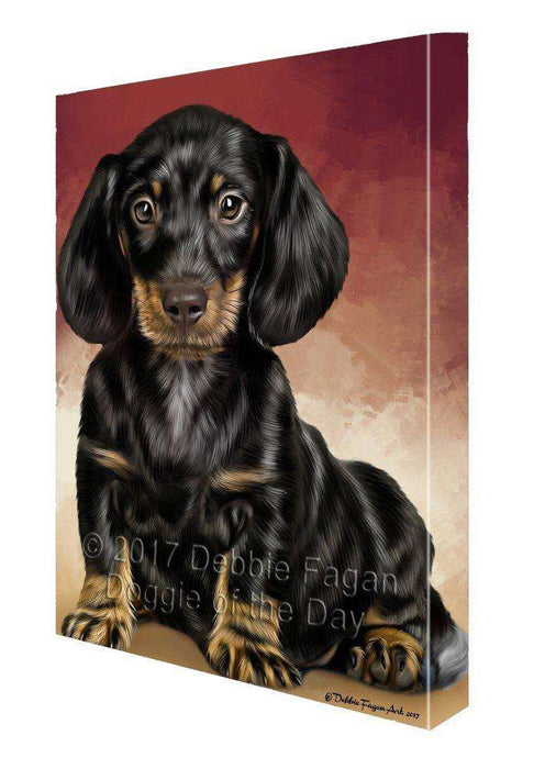 Dachshund Dog Canvas Wall Art